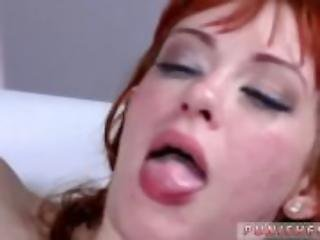 Man punished and sex slave rough gangbang