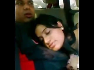 Indian Gf Blowjob In Car