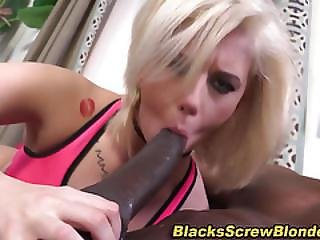 Ho Rides Huge Black Dick
