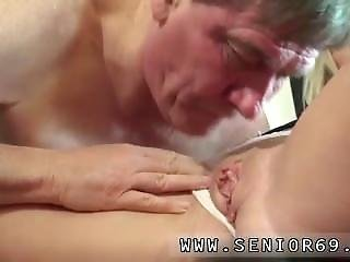 Old Seduces Young Lesbian Woody Is Selling Footwear To Vinna But She Is