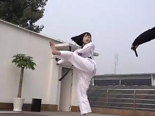 Chinese Karate Girl