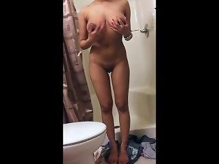 Wet Horny College Teen Gets Brutally Fucked In The Shower
