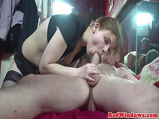 Real Amsterdam Prostitute Cum Swapping