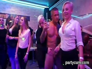 Slutty Teenies Get Totally Insane And Nude At Hardcore Party