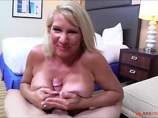 Fucking Of A Blonde Milf With Huge Tits In Pov