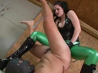 Mistress Strapon Latex Clothes Boots