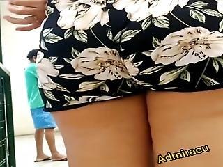 Loirinha De Shortinho Estampado Nice Big Ass Blonde In Short