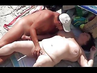 Amateur, Bbw, Beach, Voyeur