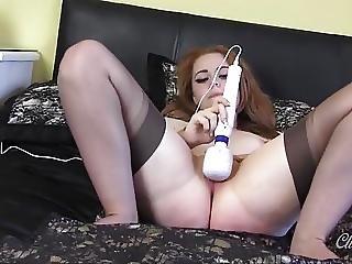 Babe, Cute, Masturbation, Nylon, Pussy, Sex, Stocking, Tight, Tight Pussy, Toys