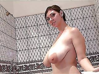 Bubblebath Playtime With Linas Big Soapy Titties