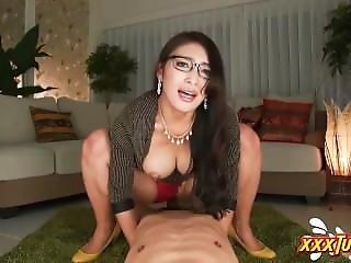 Horny Japanese Secretary Riding A Cock ? Xxxturn.com