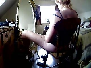 Wife Wanks In Front Of The Mirror Hcm