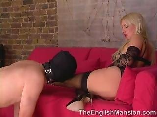 Lace Glove Femdom 3