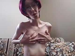 amatorski, sztuka, brunetka, szkolne, masturbacja, orgazm, rzeczywistość, seks, małe cycki, solo