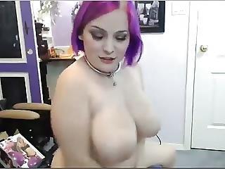 Amateur, Big Boob, Boob, Busty, Masturbation, Midget, Webcam