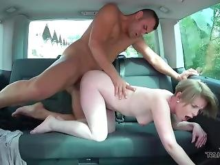 Short Hair Milf Get Mad When Kicked Out Of Car After Fucked