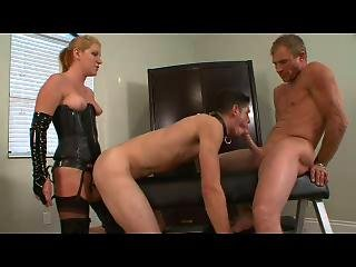 Femdom Bisexual Strap On