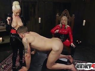 Hot Girl Femdom Humiliation And Cumshot