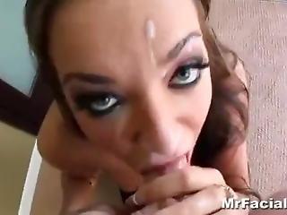 Nika Noire Sloppy Deepthroat & Facial