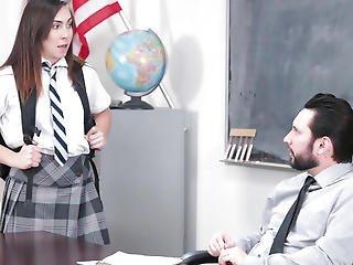 Innocenthigh Menacing-menacing Hawt Schoolgirl Copulates Her Way Out Of Trouble