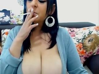 Huge Titties Ella Smoking Hot