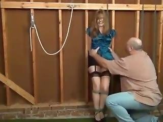 Belle Fondled In Garage