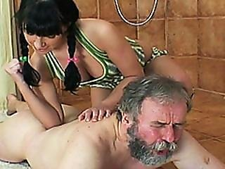 Grandpas First Teen Sex Massage
