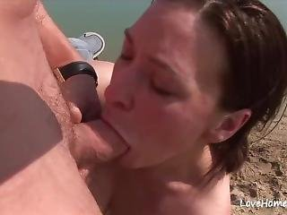 Doggy Style For A Chick On A Beach