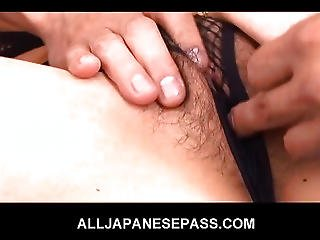 Double Blowjob Action With Nasty Keito Miyazawa Gobbling Hard