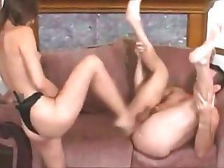 Amber Rayne Strap On Revenge