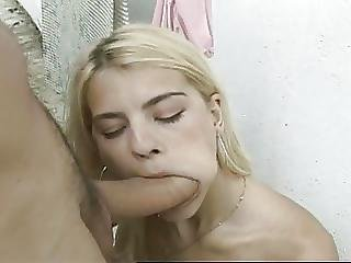 Backyard, Blowjob, Facial, Latina, Outdoor, Teen