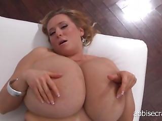 Abbi Secraa Showing Off Her Huge Tits