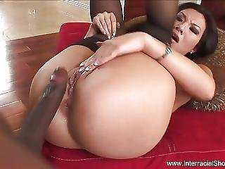 Asian Milf Insane Bbc Anal Interracial