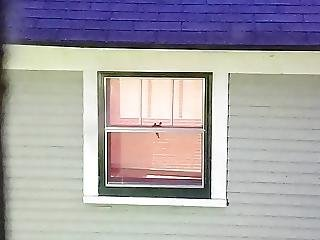My Neighbor Kelly Blinds Barely Open 3