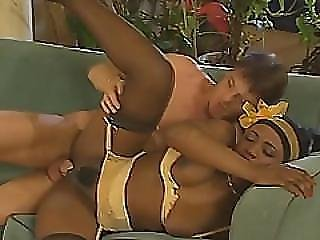 Two Whores Share One Massive Cock In An Interracial Hardcore Sex