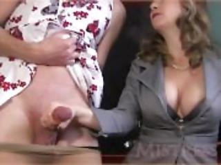 Mistress Epic Cumshot Cumpilation - watch part two at SuperPorny. com