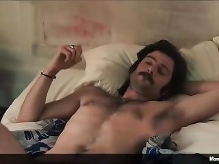 Richard Short Shows Off His Cock In Vinyl Nude Scene