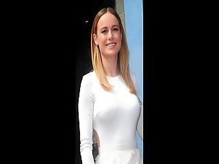 Brie Larson Jerk Off Challenge