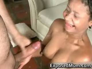 Latin Whore With Pierced Nipples Part