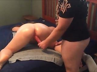 Milfydd Oiled And Toyed