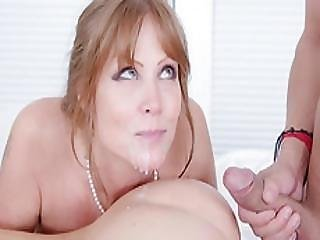 Redhead Mom Anal Fucked And Facialized By Nasty Teen