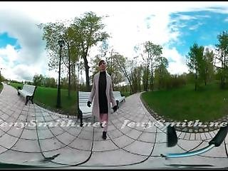 Quick Vr 360 Flashing In Public With Jeny Smith