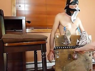 10 Mistress-ballbusting-and-shoejob-slave