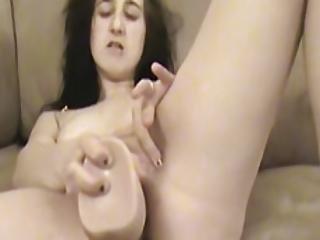 Petite Amateur Slut Fucking Herself