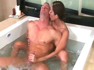 Naughty Masseuse Slut Gets Soapy