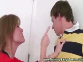 Step Mother Busted Eating Sons Ex-girlfriend Puss