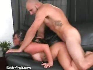Dark Haired Lets Her Handyman Fuck Her
