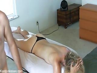 Ass, Cream, Creampie, Doggystyle, Fucking, Massage, Thong