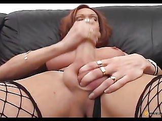 Her Flat Stomach Cum Bitch