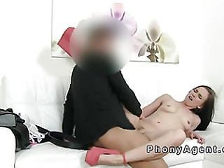 Sexy Dancer Fucks In Shoes In Casting